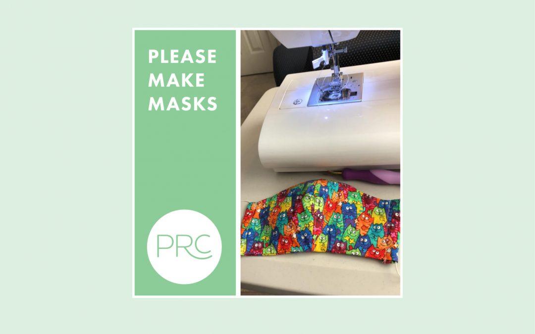 Make Face Masks for PRC
