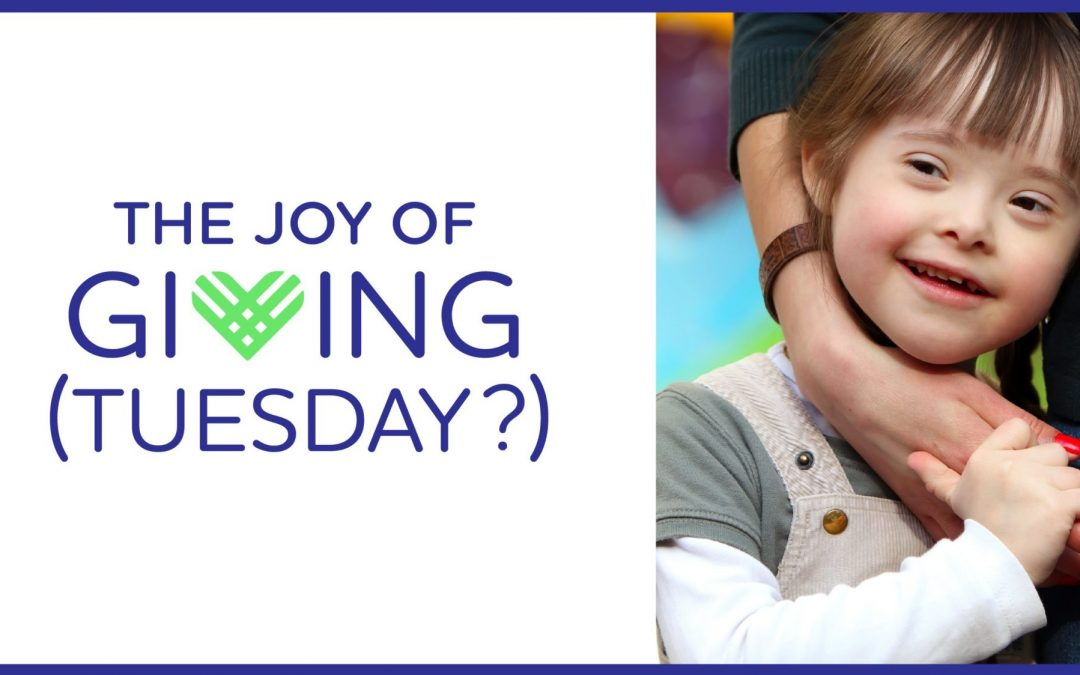 The Joy of Giving (Tuesday?)