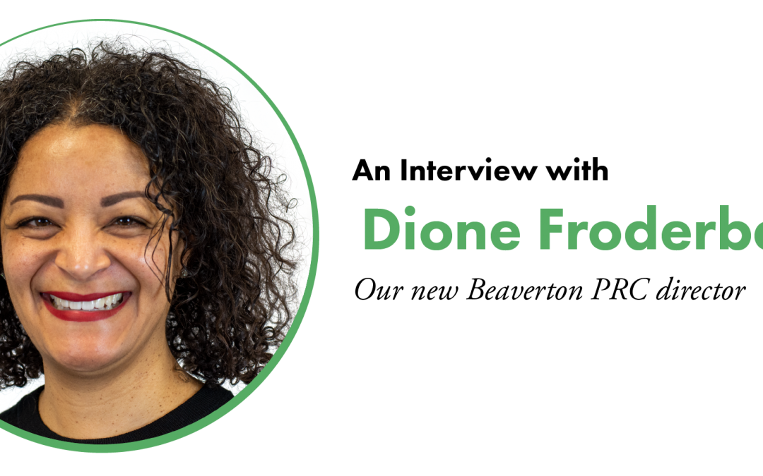 An Interview with Dione Froderberg
